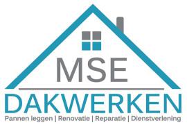 Logo ontwerp + autobelettering MSE Dakwerken
