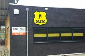Wandlogo en bewegwijzering Dalto Driebergen