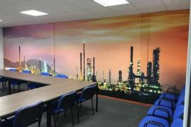 Wandprint Industrieel