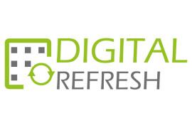 Logo ontwerp Digital Refresh