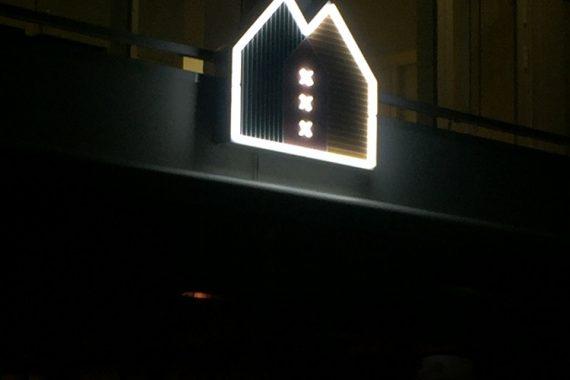 Neon reclame Amsterdam