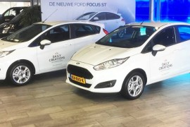 Belettering Ford Fiesta's