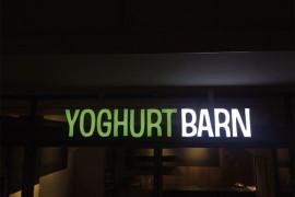 Led lichtreclame Amsterdam Yoghurt Barn