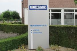Reclamezuil Midtronics Houten