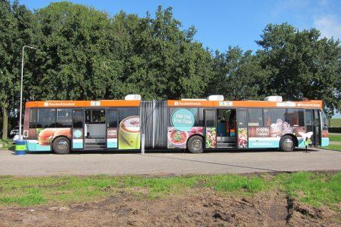 Bestickering autobus