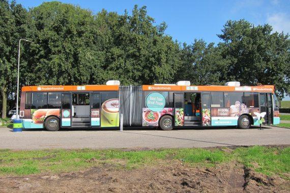 bestickering food bus